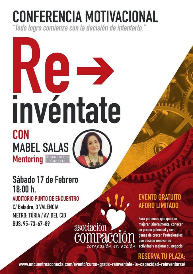 Re Invéntate Conferencia Motivacional Encuentros Conecta